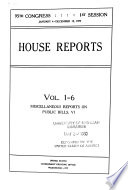 United States Congressional Serial Set Book