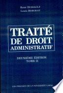 Trait De Droit Administratif