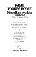 Narrativa completa: Estrella de día ; Primero de enero ; Sombras ; Nacimiento de Venus ; Entrada en materia ; Parálisis ; Antonio Arnoux