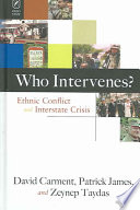 Who Intervenes  Book PDF