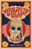 Pdf Where Did You Sleep Last Night
