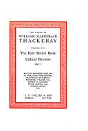 The Irish sketchbook  Critical reviews  pt  1