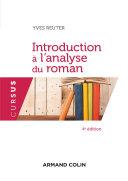 Pdf Introduction à l'analyse du roman - 4e éd. Telecharger