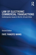 Law of Electronic Commercial Transactions: Contemporary Issues in ...