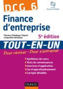 DCG 6 - Finance d'entreprise - 5e édition