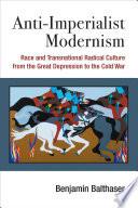 Anti Imperialist Modernism Book