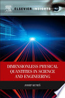 Dimensionless Physical Quantities in Science and Engineering Book