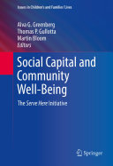 Pdf Social Capital and Community Well-Being
