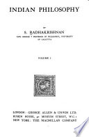 Indian Philosophy /by S. Radhakrishnan
