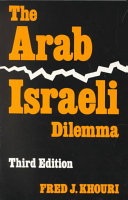 The Arab-Israeli Dilemma