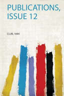 Publications, Issue 12