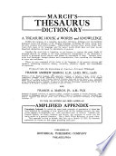 March's Thesaurus Dictionary