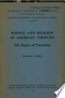 Science And Religion In American Thought