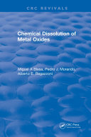 Chemical Dissolution of Metal Oxides Pdf