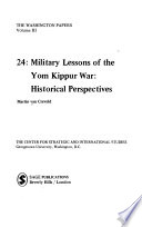 Military Lessons of the Yom Kippur War