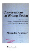 Conversations on Writing Fiction