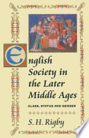 English Society In The Later Middle Ages