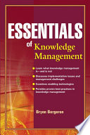 Essentials of Knowledge Management