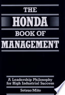 The Honda Book of Management