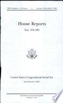 United States Congressional Serial Set Serial No 15051 House Reports Nos 378 399
