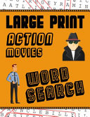 Large Print Action Movies Word Search