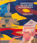 Essentials of College Mathematics for Business, Economics, Life Sciences, and Social Sciences