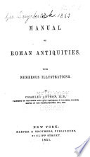 A Manual of Roman Antiquities Book