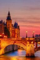 Conciergerie Just After Sunset Paris France Journal