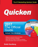 Quicken 2017 The Official Guide