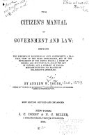 The Citizen s Manual of Government and Law