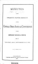 Minutes of the Central Ohio Conference of the Methodist Episcopal Church