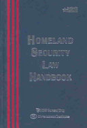 Homeland Security Law Handbook Book PDF