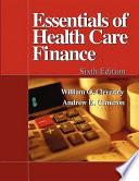 Essentials of Health Care Finance Book PDF