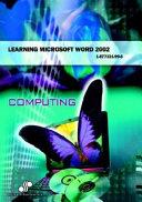 Learning Microsoft Word 2002