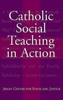 Catholic Social Teaching In Action Book PDF