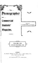 The Phonographer And Commercial Students Magazine