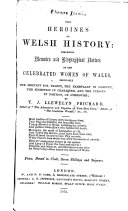 The Heroines of Welsh History