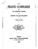 La France catholique et la France juive