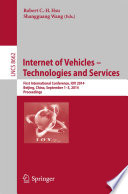 Internet Of Vehicles Technologies And Services Book PDF