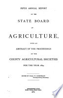 Annual Report Of The State Board Of Agriculture
