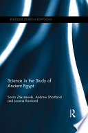 Science in the Study of Ancient Egypt Book