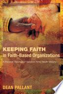 Keeping Faith in Faith-Based Organizations
