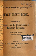 The first Irish book