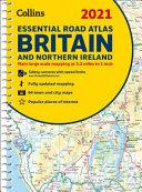 2021 Collins Essential Road Atlas Britain