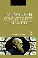 Darwinian Creativity and Memetics