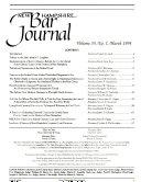 New Hampshire Bar Journal