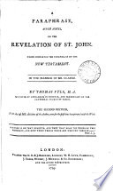 A Paraphrase With Notes On The Revelation Of St John