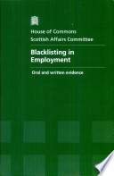 Blacklisting in Employment