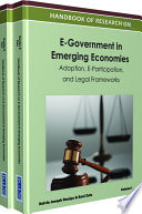 Handbook Of Research On E Government In Emerging Economies Adoption E Participation And Legal Frameworks