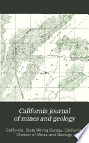 California Journal of Mines and Geology